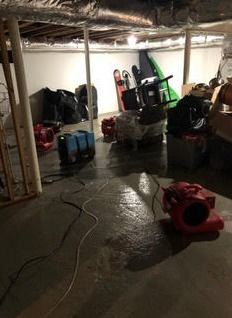 Pipe Break/Flooded Basement/Drying/Mold Prevention in Killingworth, CT (1)