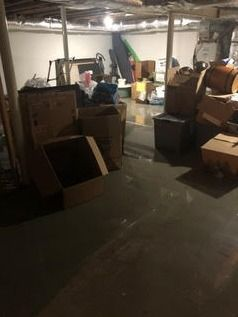Pipe Break/Flooded Basement/Drying/Mold Prevention in Killingworth, CT (2)