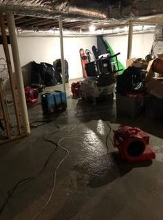 Flooded Basement/Storm/Pipe Break/Drying in Guilford, CT (2)