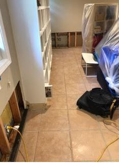 Pipe Break/Flood/Post Clean up and Drying in Greenwich, CT (2)