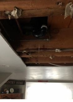 Pipe Break/Exposed/Damaged Contents/Ready for Repair/Remediation in Stamford, CT (2)
