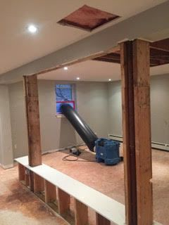 Water Damage Mitigation/Containment/Drying in Bethel, CT (2)