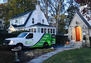 Emergency water removal in Southport by Green Restoration of Fairfield County