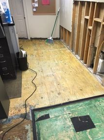Water Damage Clean Up in Fairfield CT from Burst Pipes (1)