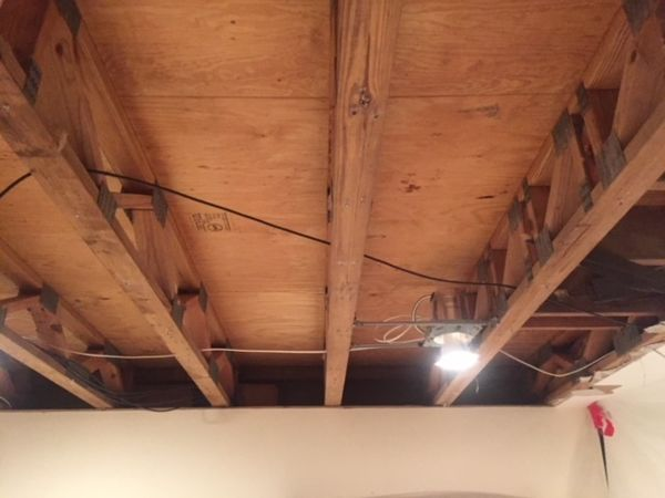 Mold Remediation & Water Damage Restoration due to Roof Leak from Ice Dam in South Glastonbury CT (3)