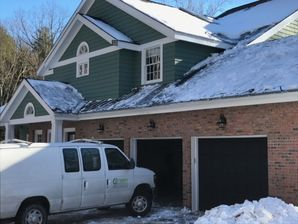 Mold Remediation & Water Damage Restoration due to Roof Leak from Ice Dam in South Glastonbury CT (1)