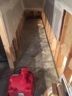 Mold Removal & Water Damage Restoration from Flooded Basement in Oxford, CT (3)