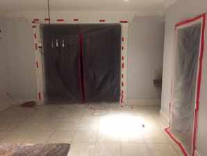 Water Damage Restoration & Mold Removal after Burst Pipes Flooded Basement in Woodbury CT (1)