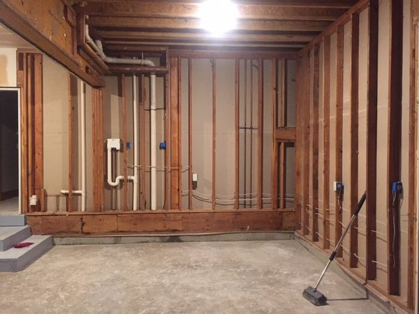 Water Damage Restoration & Mold Removal after Burst Pipes Flooded Basement in Woodbury CT (5)