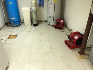 Mold Removal & Water Damage Restoration after Burst Pipes caused Basement Flood in Trumbull, CT (6)