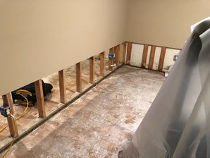 Water Damage Restoration after Basement Flooded in Riverside, CT (2)