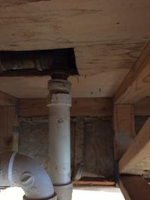 Water Damage Repair from Burst Pipes in Peekskill NY (2)