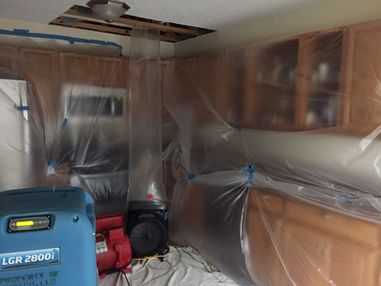 Mold Removal after Burst Pipes caused Water Damage in Wilton, CT (2)
