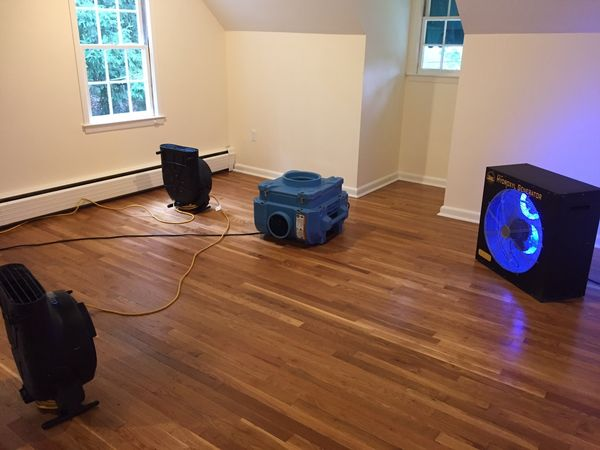 Mold Removal after Burst Pipes caused Water Damage in Wilton, CT (3)