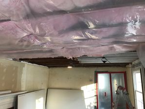 Mold Removal after Water Damage from Burst Pipes in Willimantic CT (2)