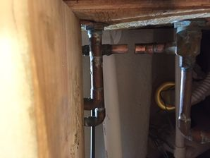 Water Damage from Flooded Basement Woodbury CT (2)