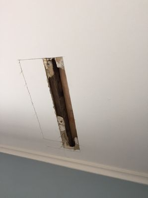 Roof Leaking from Water Damage in Branford CT (3)