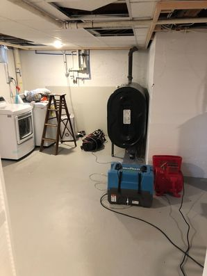 Mold Removal caused by Appliance Leak in Glastonbury, CT (1)
